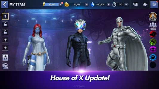 screenshot of MARVEL Future Fight version 5.9.0