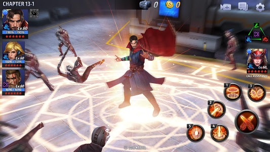 screenshot of MARVEL Future Fight version 5.0.1