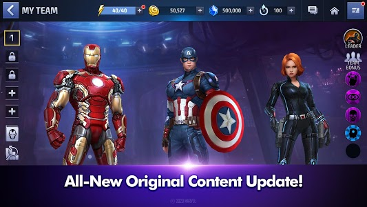 screenshot of MARVEL Future Fight version 5.7.0
