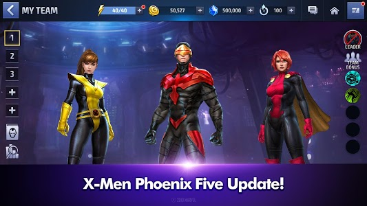 screenshot of MARVEL Future Fight version 5.4.0