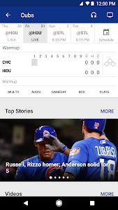 screenshot of MLB.com At Bat version 6.5.0