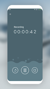 screenshot of MP3 Recorder version 2.3.6