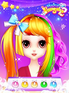 screenshot of Fashion Hair Salon Games: Royal Hairstyle version 1.25