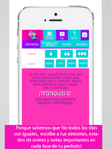 screenshot of Mi Calendario by Nosotras version 2.11