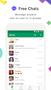 screenshot of MiChat - Free Chats & Meet New People version 1.2.19