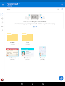 screenshot of Microsoft OneDrive version Varies with device