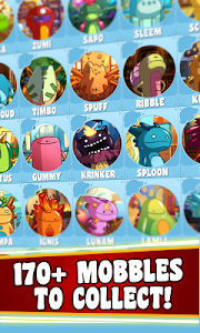 screenshot of Mobbles, the mobile monsters version 3.3.3