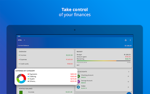screenshot of Mobills: Budget Planner version 3.2.18.08.03
