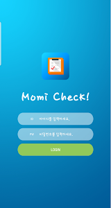 screenshot of MomiCheck version 1.0