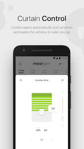 screenshot of Moorgen SmartHome version 4.1.7