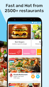 screenshot of Mr D Food - delivery & takeaway version 4.3.6