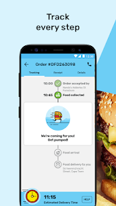 screenshot of Mr D Food - delivery & takeaway version 4.3.10
