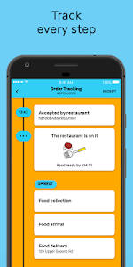 screenshot of Mr D Food - delivery & takeaway version 4.1.7