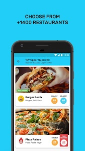screenshot of Mr D Food - delivery & takeaway version 3.0.4