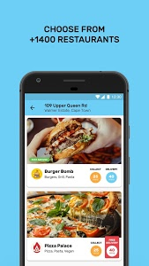 screenshot of Mr D Food - delivery & takeaway version 3.0.6