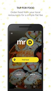 screenshot of MrD Food - delivery & takeout version 1.6.7