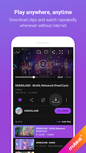 screenshot of Mubeat for KPOP Lovers version 01.07.05