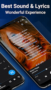 screenshot of Music Player for Android-Audio version 2.8.0