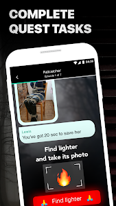 screenshot of Mustread Scary Short Chat Stories version 3.8.2