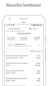 screenshot of Mutual Fund App, Free Direct Funds, SIP - Groww version 12.27