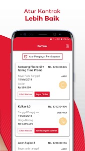 screenshot of My Home Credit Indonesia version 3.2.9.1