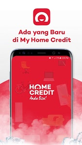screenshot of My Home Credit Indonesia version 2.1