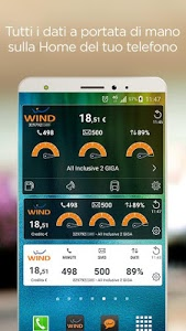 screenshot of MyWind (App ufficiale Wind) version 4.6