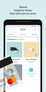 screenshot of N26 – The Mobile Bank version 3.20