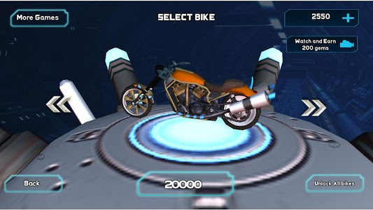 screenshot of Neon Moto Adventure version 1