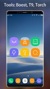 screenshot of Note 8 Launcher - Galaxy Note8 launcher, theme version 1.7