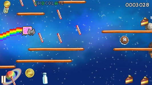screenshot of Nyan Cat: Lost In Space version 10.5.1