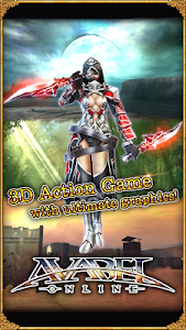 screenshot of ONLINE RPG AVABEL [Action] version 3.6.5