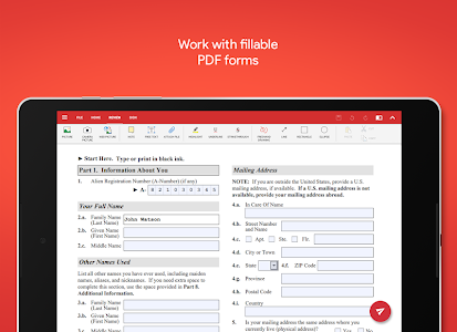 screenshot of OfficeSuite Pro + PDF (Trial) version 9.6.13596