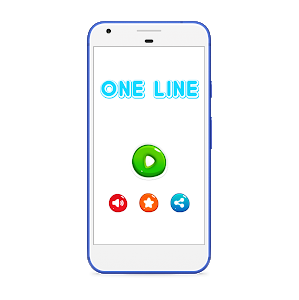 screenshot of One Line Connect Square version 1.3