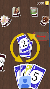screenshot of One online (Crazy Eights) version 1.9.0