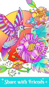 screenshot of Paint By Number - Coloring Book Free & Color Art version 1.0.2