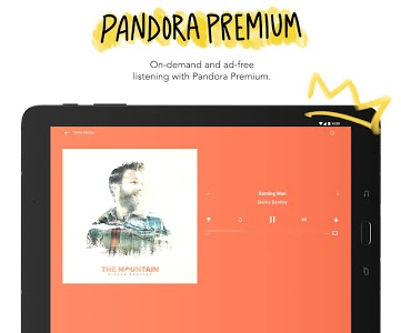 screenshot of Pandora - Streaming Music & Podcasts version Varies with device