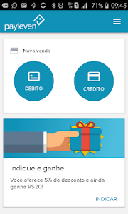 screenshot of payleven version 3.1.20