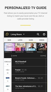 screenshot of Peel Universal Smart TV Remote version 10.6.6.0
