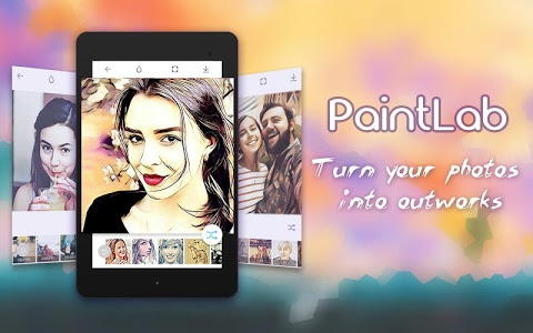 screenshot of Photo Cartoon Camera- PaintLab version Varies with device