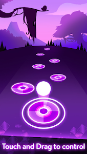screenshot of Pink Tiles Hop 3D - Dancing Music Game version 1.5