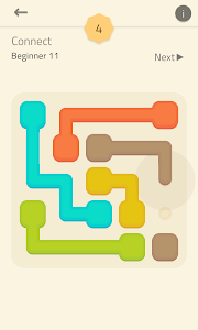screenshot of Linedoku - Logic Puzzle Games version 1.9.12