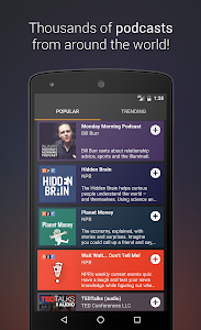 screenshot of Podcast Go version 2.17.50
