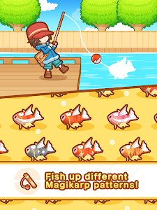 screenshot of Pokémon: Magikarp Jump version Varies with device