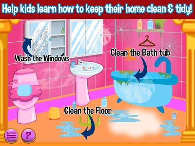 screenshot of Princess Doll House Cleaning & Decoration Games version 7.0