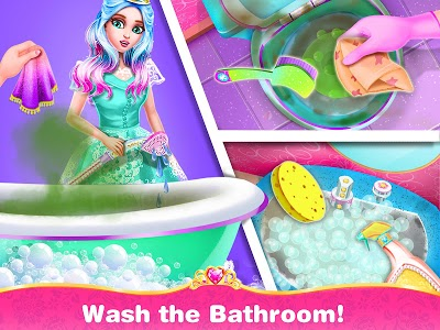 screenshot of Princess Home Girls Cleaning – Home Clean up version 1.8