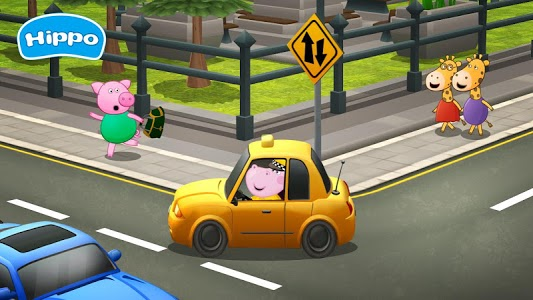 screenshot of Professions for kids: Driver 3D version 1.1.0