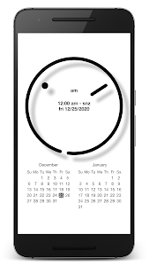 "screenshot of PsPsClock ""Tone"" - Music Alarm Clock & Calendar version 1.0.447"