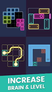 screenshot of Puzzle Glow : Brain Puzzle Game Collection version 2.0.78