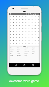 screenshot of Puzzle Word Search version 1.0